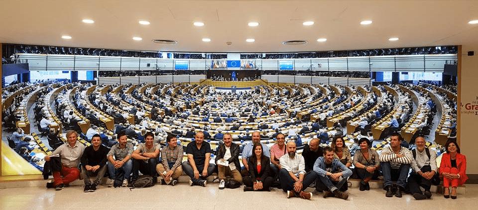 Berriztu en el Parlamento Europeo