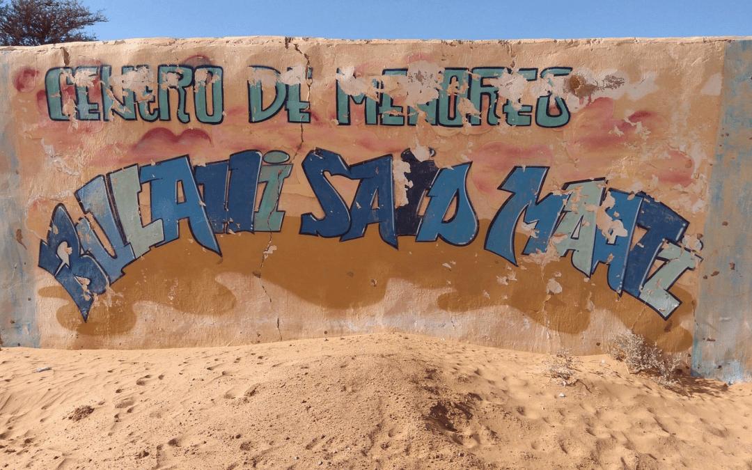 COLABORACIÓN DE BERRIZTU EN EL CENTRO EL BULAHI (SAHARA)